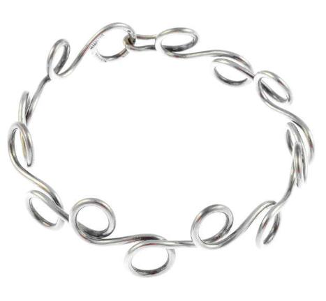 Silverarmband av Bent Knudsen