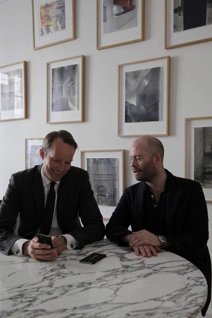 Pontus Silfverstolpe und Christopher Barnekow, die beiden Gründer von Barnebys