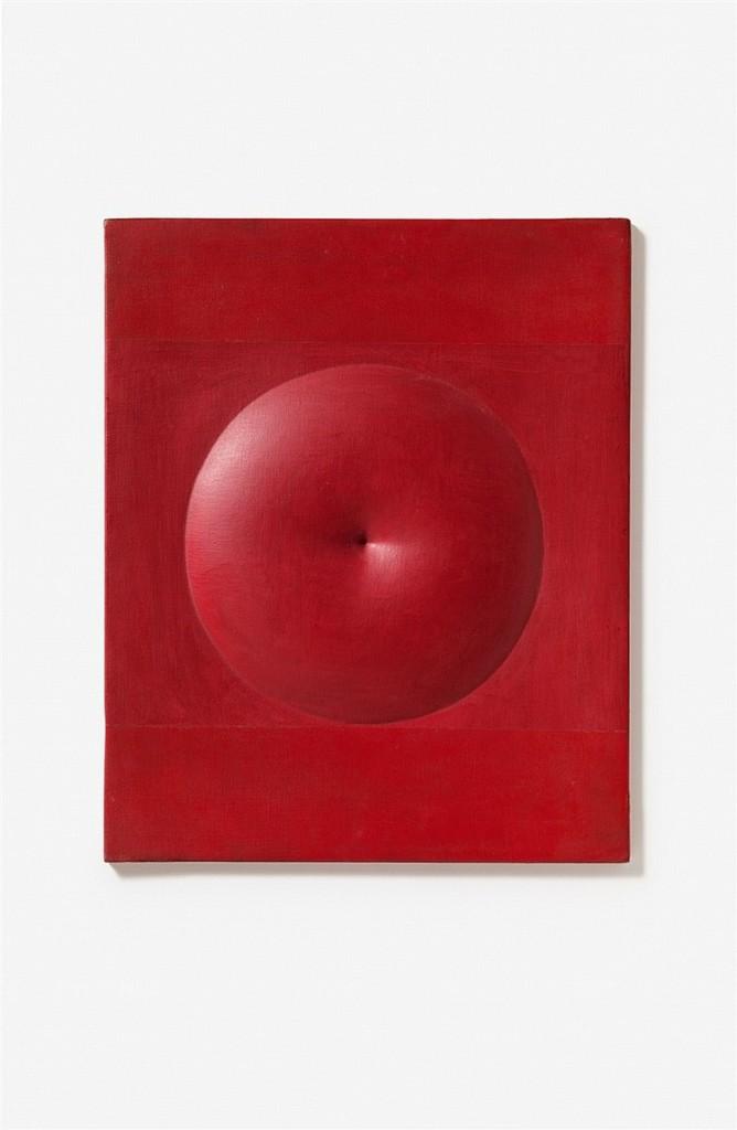 AGOSTINO BONALUMI (1935 Vimercate - 2013 Desio) - Rosso, signiert und datiert, 1971