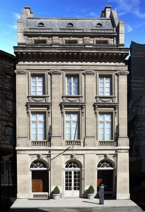 19 East 64th Street, the second location of Skarskedt's gallery, which sold for $90 million in 2018. Photo: Zillow