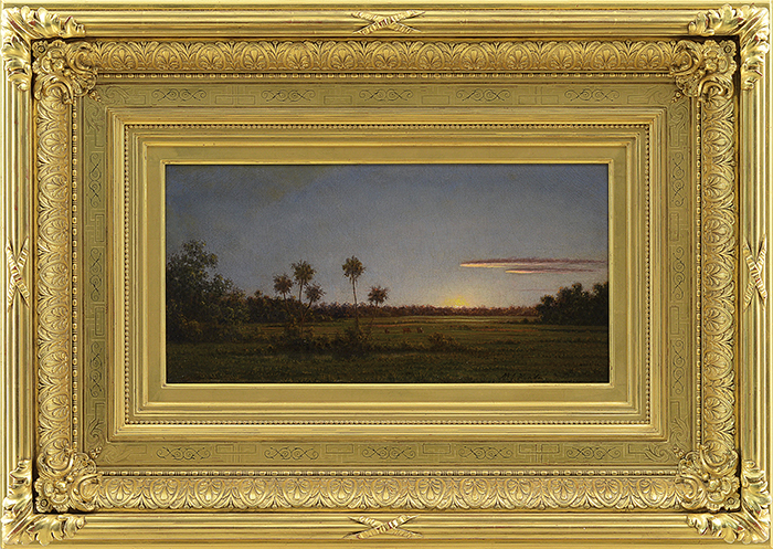 Martin Johnson Heade oil