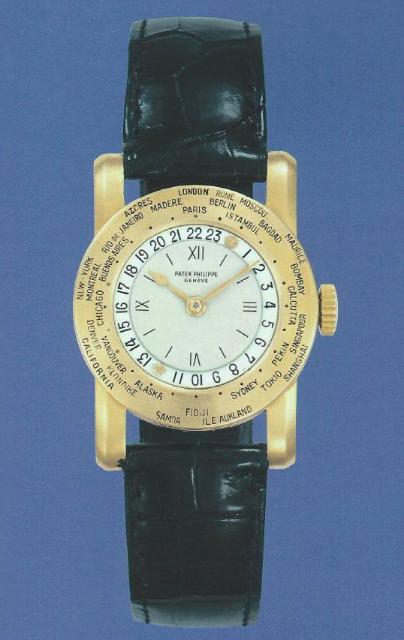 La 542 HU, la plus petite des World Time par Patek Philippe Crédit photo: Magazine Patek Philippe