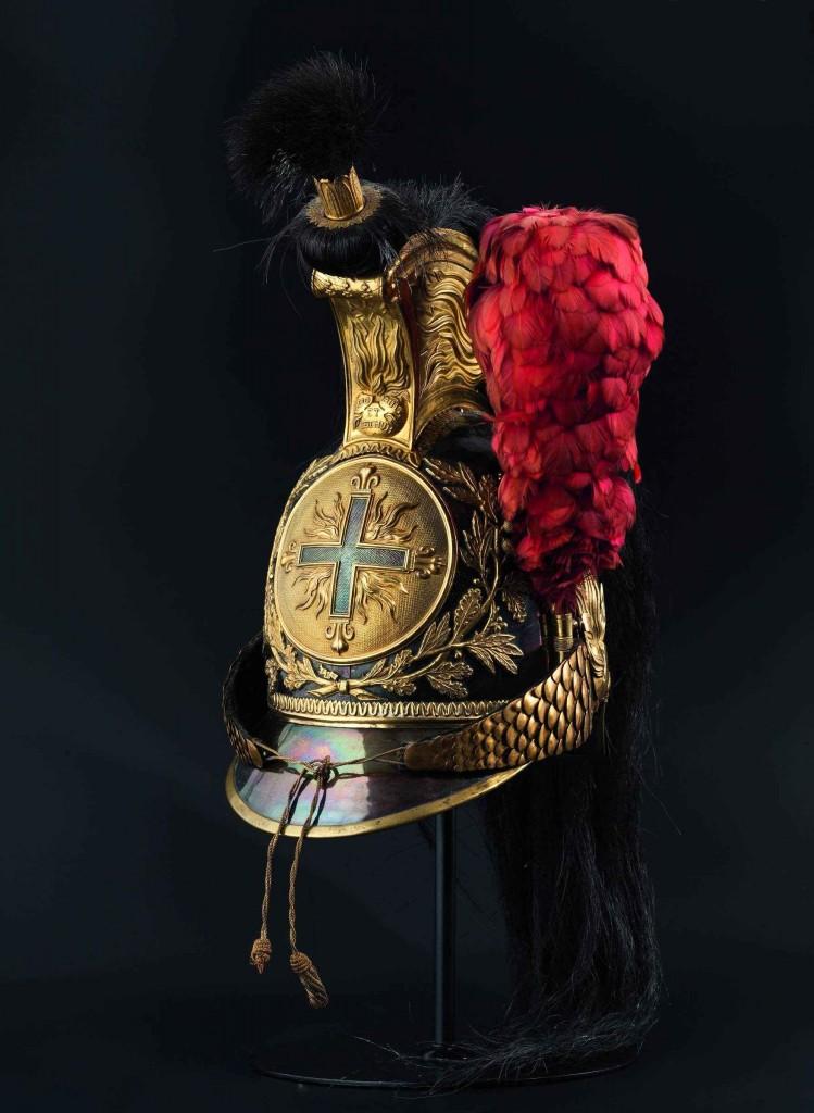 Helm für Mannschaften der Mousquetaires gris de la Maison du Roi, um 1814/15 Limit: 9.500 EUR
