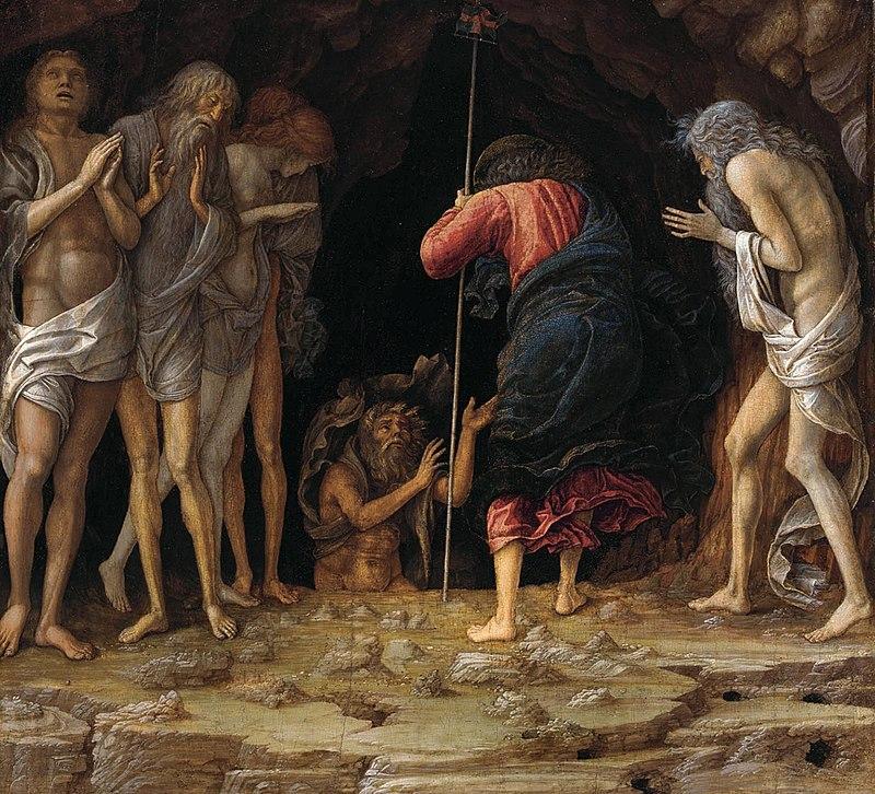 Andrea Mantegna, Discesa al Limbo, 1492, Privatbesitz | Foto via Wikipedia
