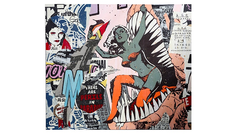 FAILE (COLLECTIVE) - New York City 02, 2007