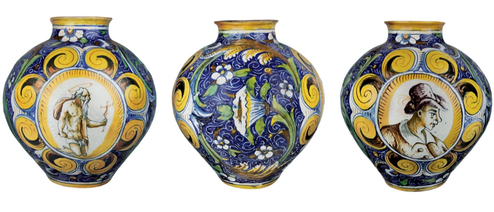 DOMENICO DI BETTI (Werkstatt) - Bemalte Majolika-Vase, ca. 1560 Schätzpreis: 20.000-25.000 EUR