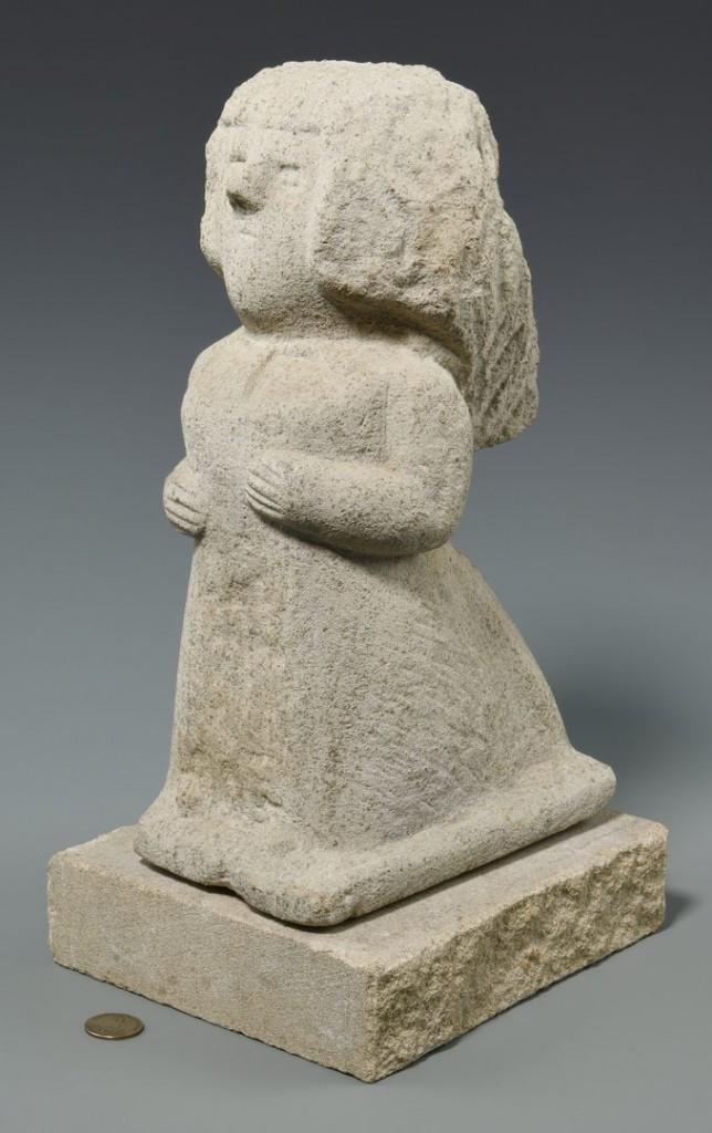 William Edmondson sculpture