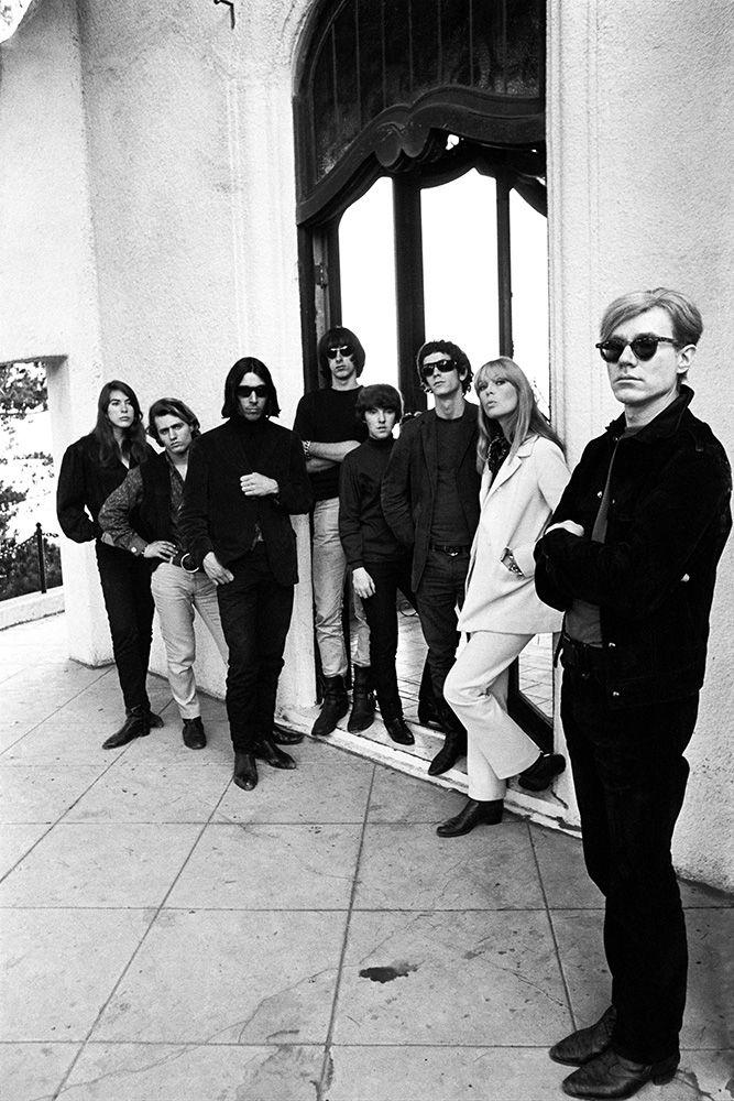 Andy Warhol et le groupe des Velvet Underground, Los Angeles, Californie, 1966 © Steve Schapiro, courtesy the A. Gallery ,Paris