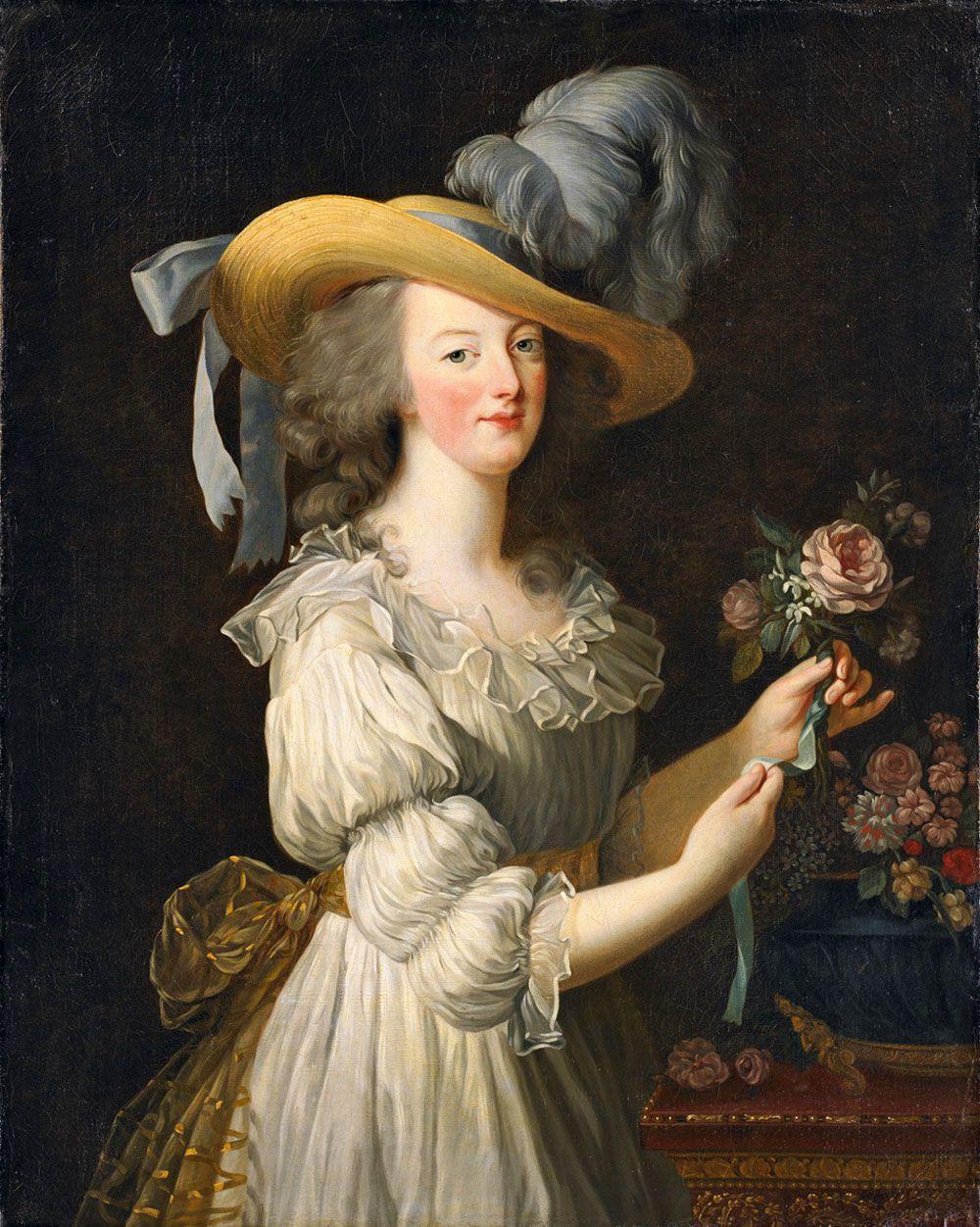 """Élisabeth Vigée Le Brun, """"Marie Antoinette en chemise"""", 1783"""