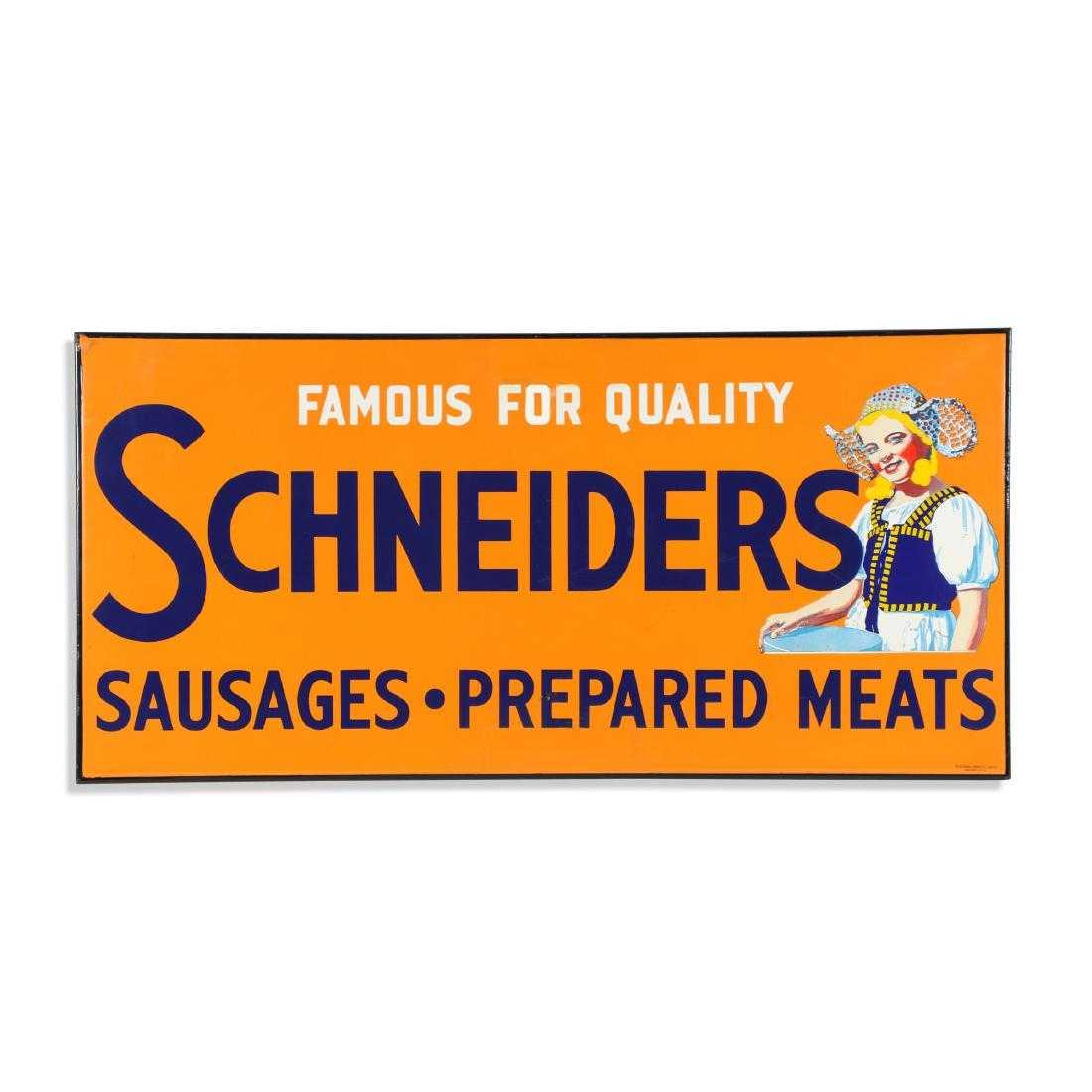 Schneider's sign