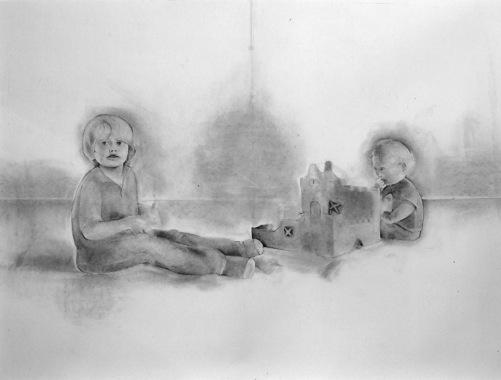 """""""Tage och Eliott"""", år 2007. Foto: Astrid van Arkel."""