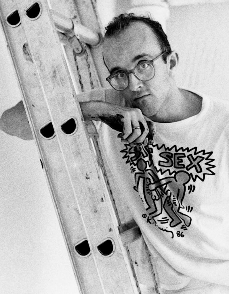 Keith Haring, 1989 | Foto: elle.fr