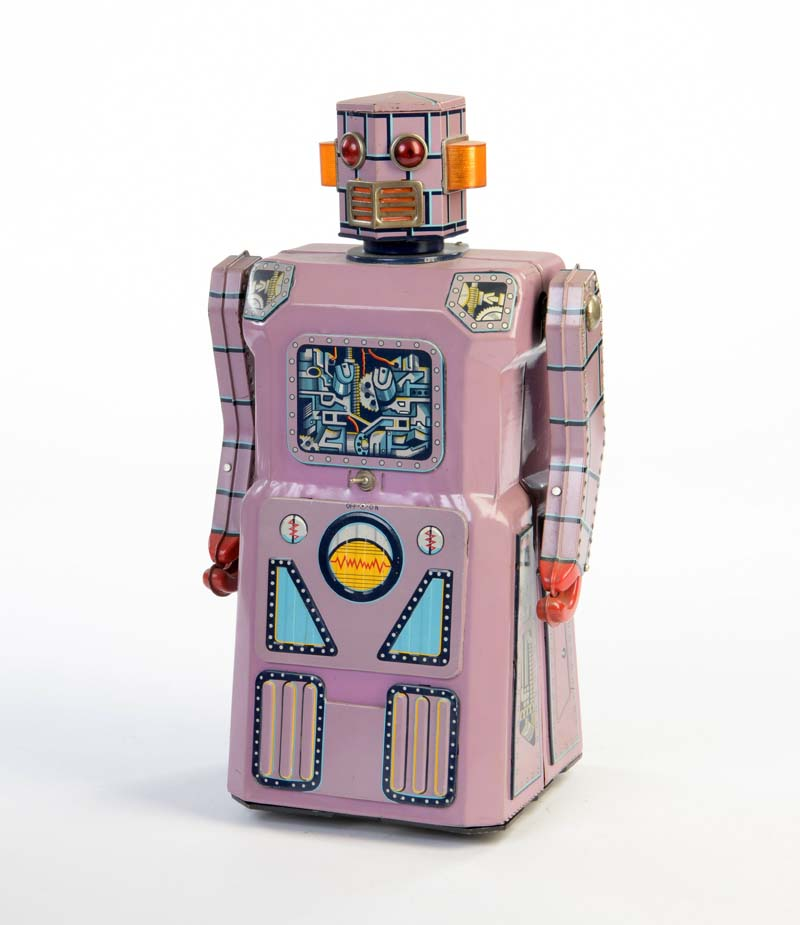 MASUDAYA Lavender Robot, Blech, Japan