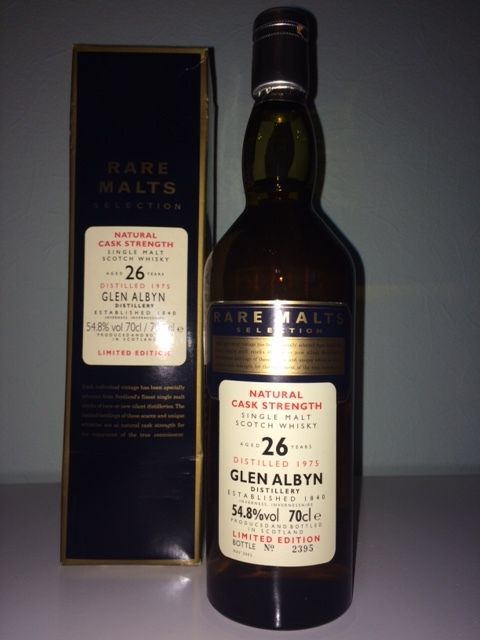 Glen Albyn 1975 Limited Edition 26 Jahre