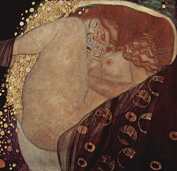 GUSTAV KLIMT - Danaë, 1907/08 Abb. commons.wikimedia.org