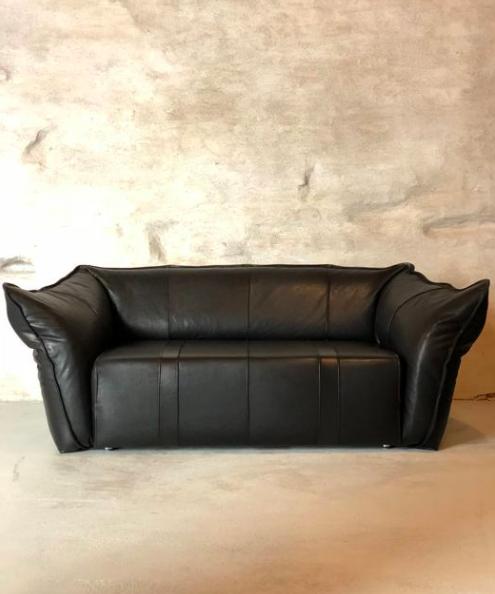 Gerard van den Berg for Montis, Leather Sofa, 1970s. Photo: Catawiki