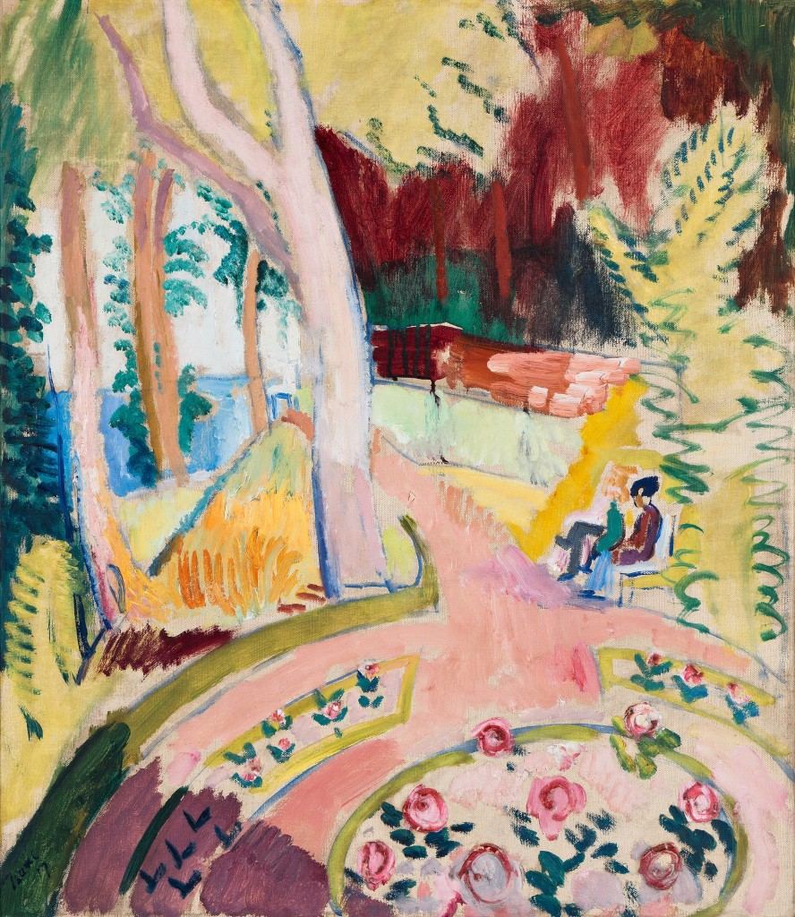 "Isaak Grünewald, ""I parken"", 1917. Foto: Bukowskis."