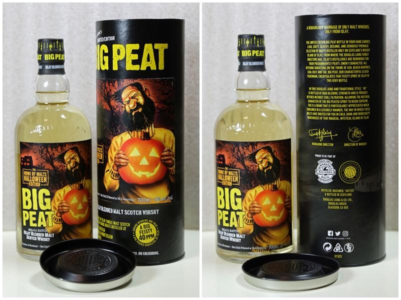 DOUGLAS LAING. Big Peat Halloween. Edición limitada, sólo 480 botellas