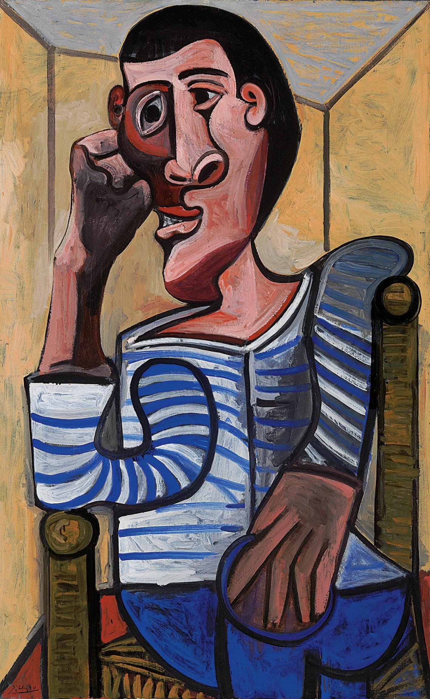 Pablo Picasso, « Le marin », 1943, image ©Christie's