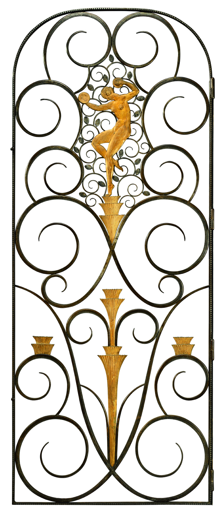 Wrought iron gate by Edgar Brandt (1880-1960)