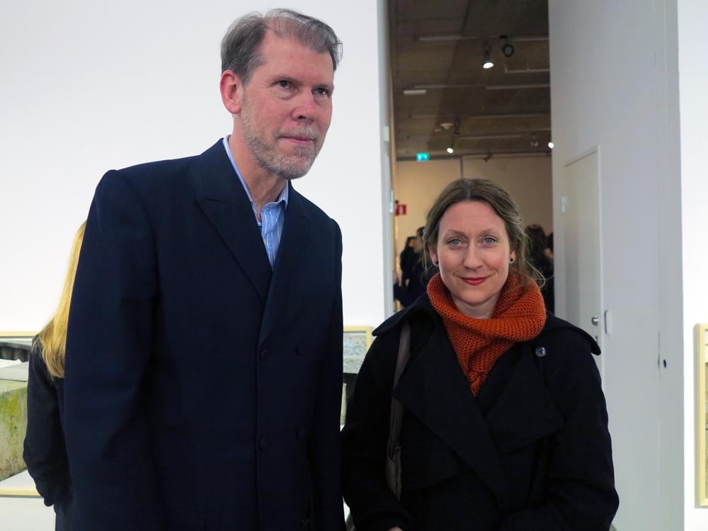 Lars Nilsson och Lina Selander