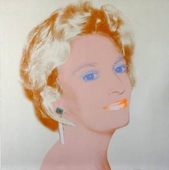 The Socialite, by Andy Warhol, 1986-1987 Image via Long-Sharp Gallery