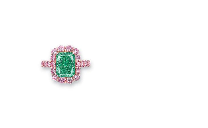 Grüne Diamanten sind eine echte Seltenheit (Foto: Christie's)