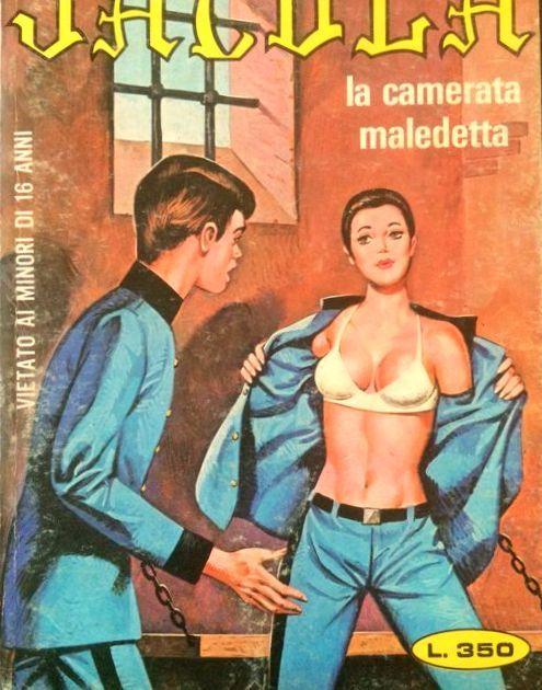 Cult: 13 numbers of Jacula in Italian - 1974/1982