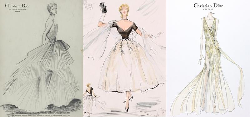 Diseños de Christian Dior