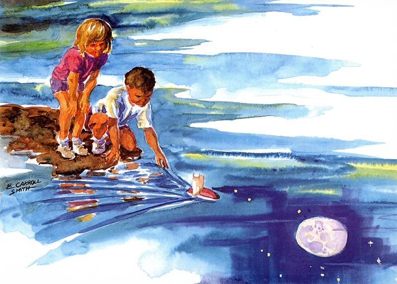 Elizabeth Carol Smith, When Dreams Are Born, image via Arsadastra.com