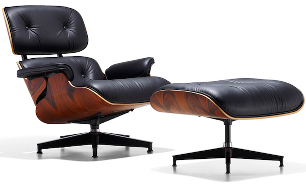 """Charles & Ray Eames, """"Lounge Chair""""."""