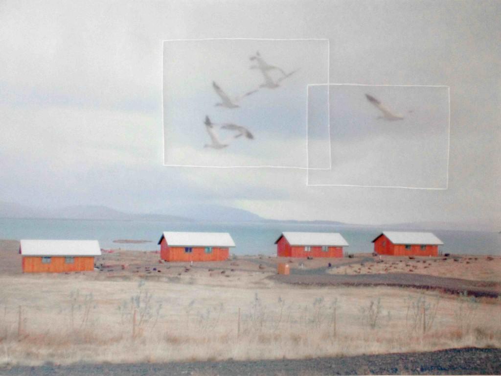 Juliette-Andréa Elie Demain c'est peut-être Série Fading Landscapes, 2013-2014