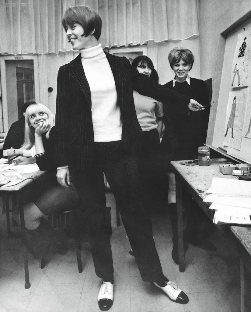 "Under 1960-talet undervisade Jane på Beckmans. Foto kommer från boken ""Jane Barks Bilder""."