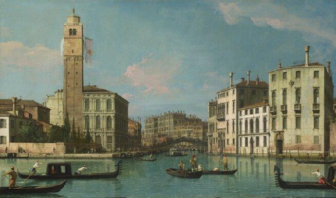 Canaletto, 'Entrance to the Cannaregio', c. 1734-42