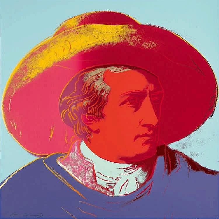 Andy Warhol, Goethe, 1982. Lempertz