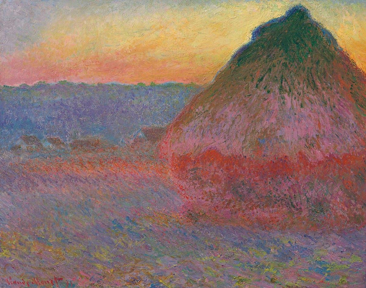 Claude Monet (1840-1926), Meule, 1891, signerad och daterad 'Claude Monet 91',