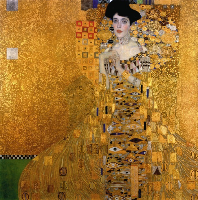 "Gustav Klimts ""Portrait Adele Bloch-Bauer I"" (1907)   Foto via Fine Art Images"