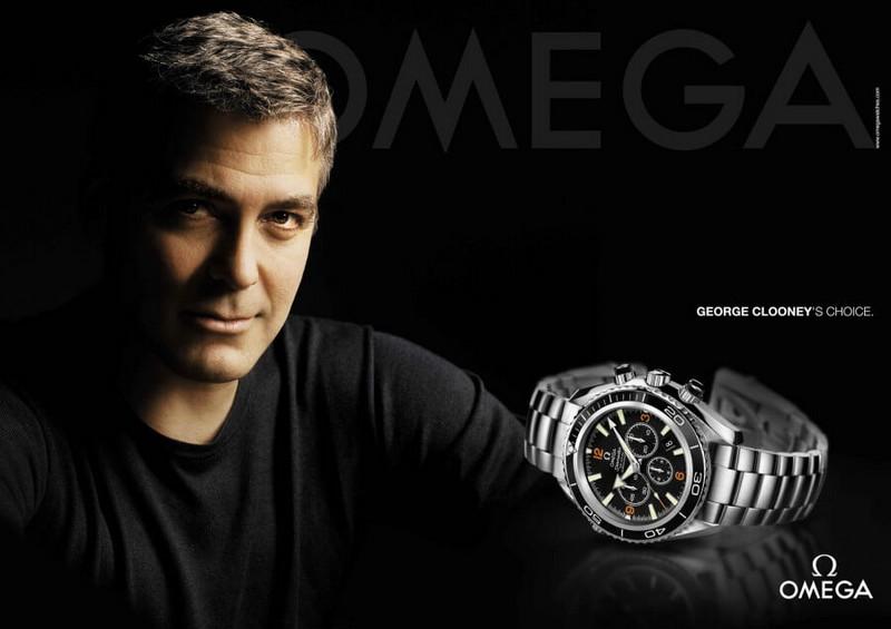 Omega George Clooney