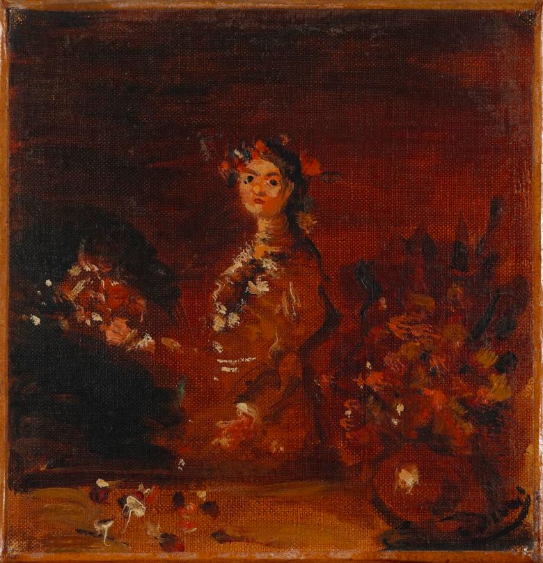 André Derain, Femme au bouquet, 1930-35, image ©Rossini
