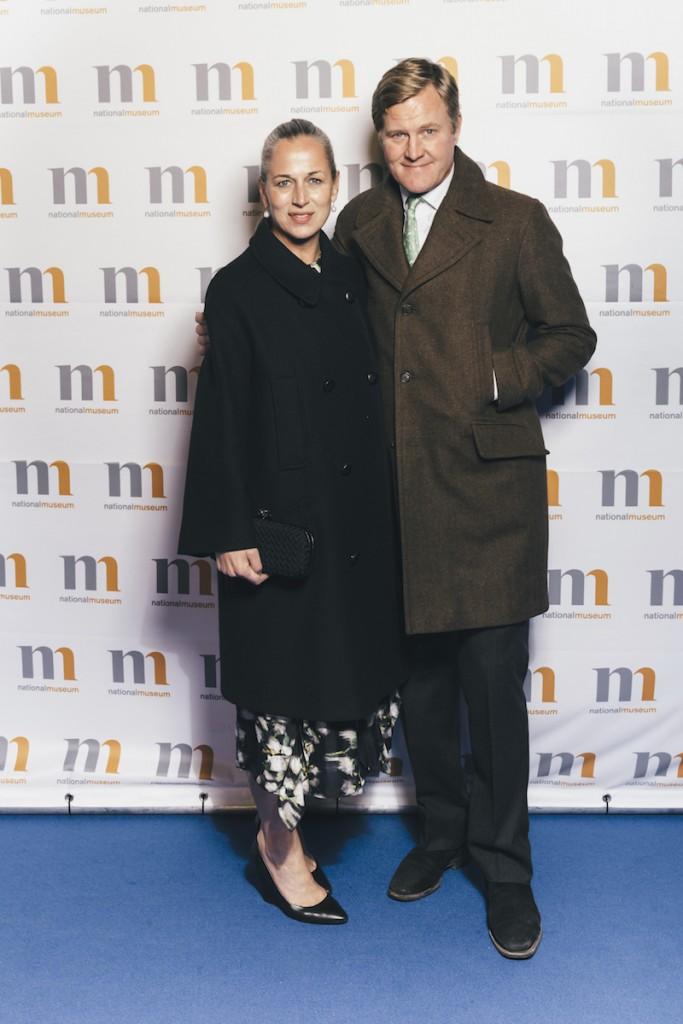 Stockholms Auktionsverks nya verksamhetschef Emma och Andreas Ohlsson