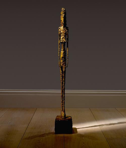 Alberto Giacometti Grande Figure Image: courtesy Sotheby's