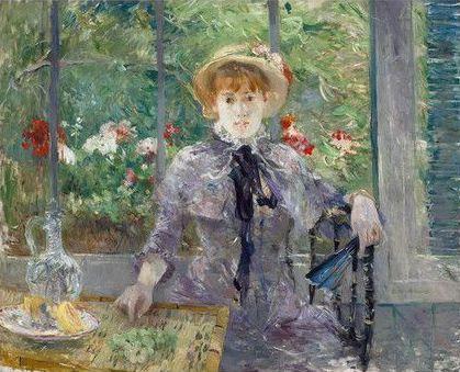 Berthe Morisot, « Après le déjeuner », 1881, image ©Christie's