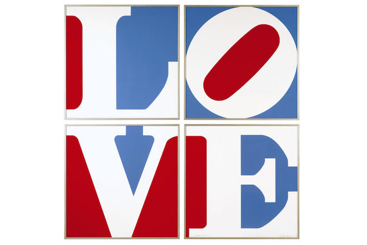 Robert-Indiana-Four-Panel-Love.-Estimate-€5.000-–-7.000.-Photo-Sothebys