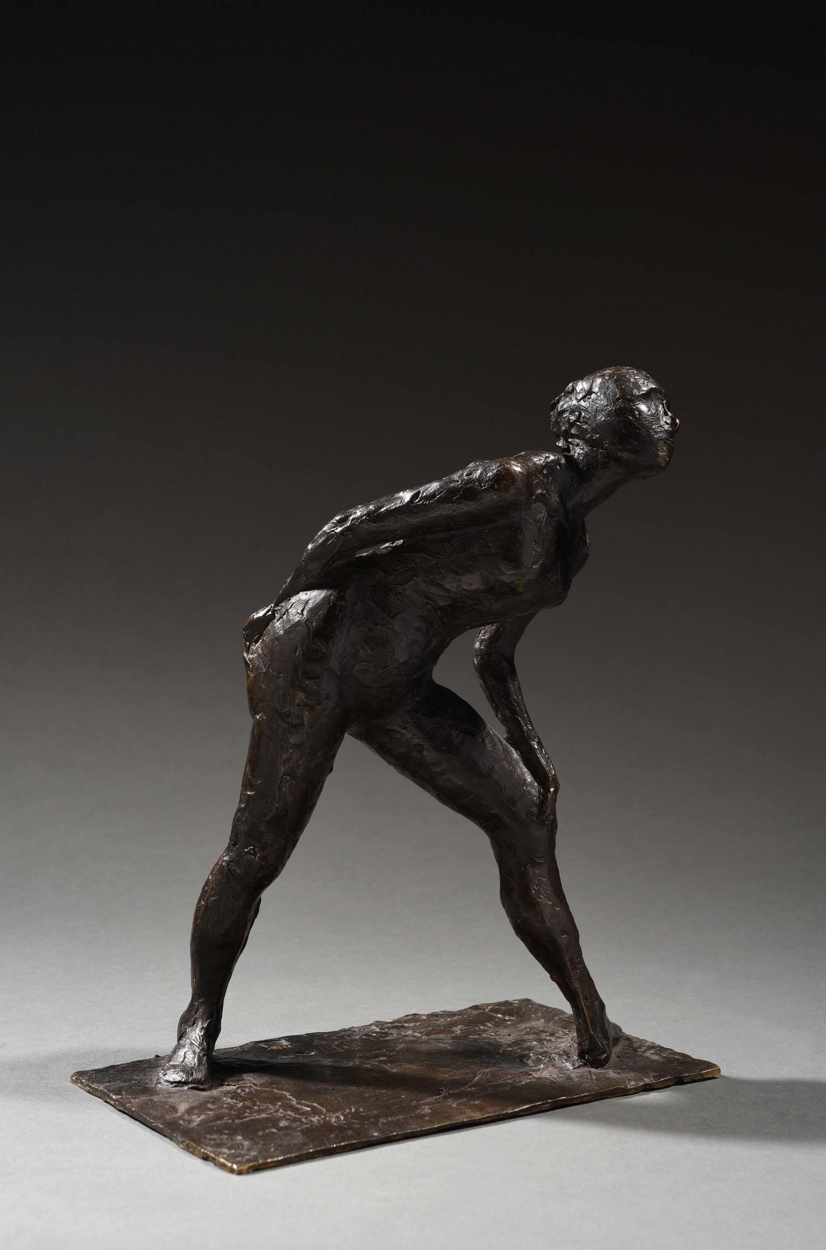 Edgar Degas, Danseuse se frottant le genou, épreuve en bronze, image © HVMC