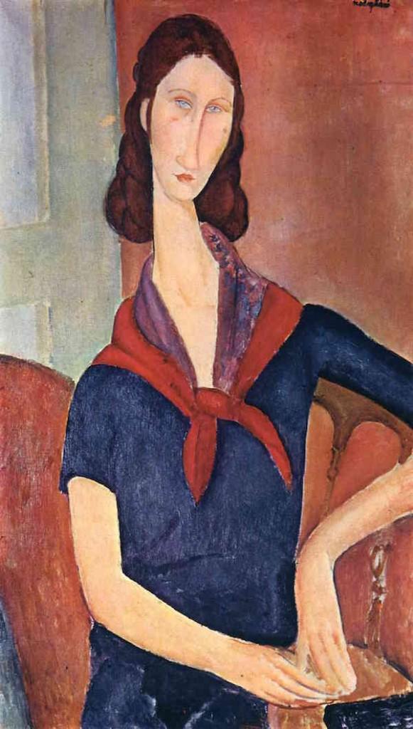 Amedeo Modigliani, Jeanne Hebuterne, 1919.