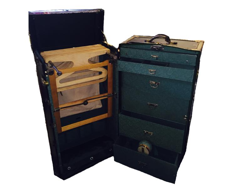 Koffert inkommen till Barnebys kostnadsfria värderingstjänst