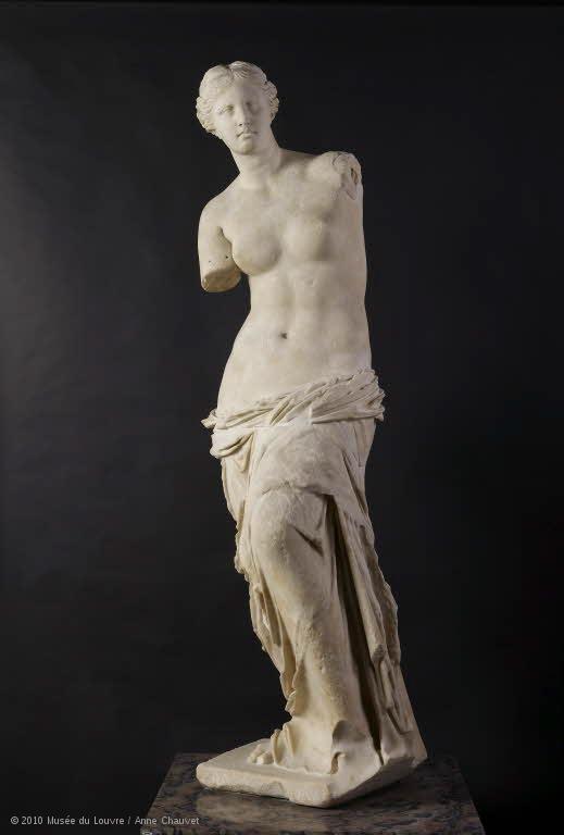 Aphrodite, dite Vénus de Milo © 2010 Musée du Louvre / Anne Chauvet