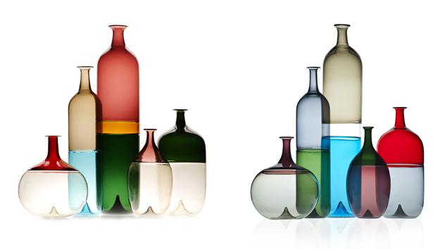 Objekte von Tapio Wirkkala für Venini | Foto via cultfinlandia.it