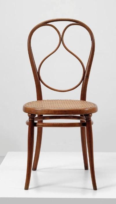 MICHAEL THONET - Stuhl Modell Nr. 1, Wien 1870-81