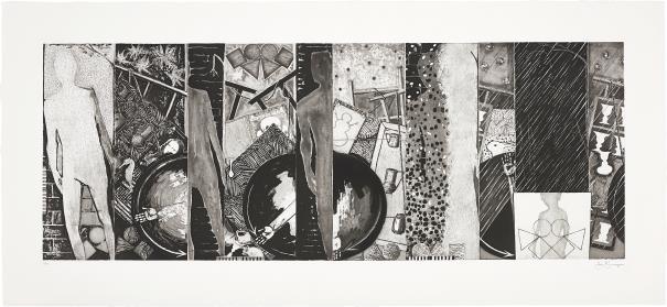 Jasper Johns, The Seasons, 1989Estimate: £10 000 - 15 000Phillips